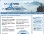 Solutions4NaturalHealth - alternative medicine practices web solutions